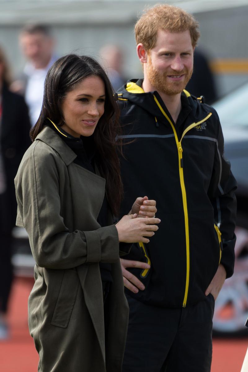 英國哈利王子與梅根的婚禮種種細節都是媒體關注焦點。(東方IC)