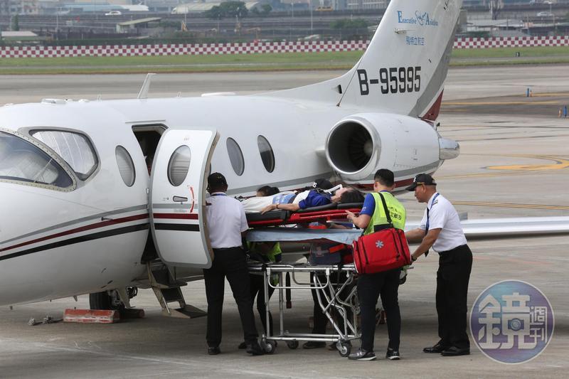 飛特立航空是台灣唯一擁有自屬醫療專機機隊的救援團隊。