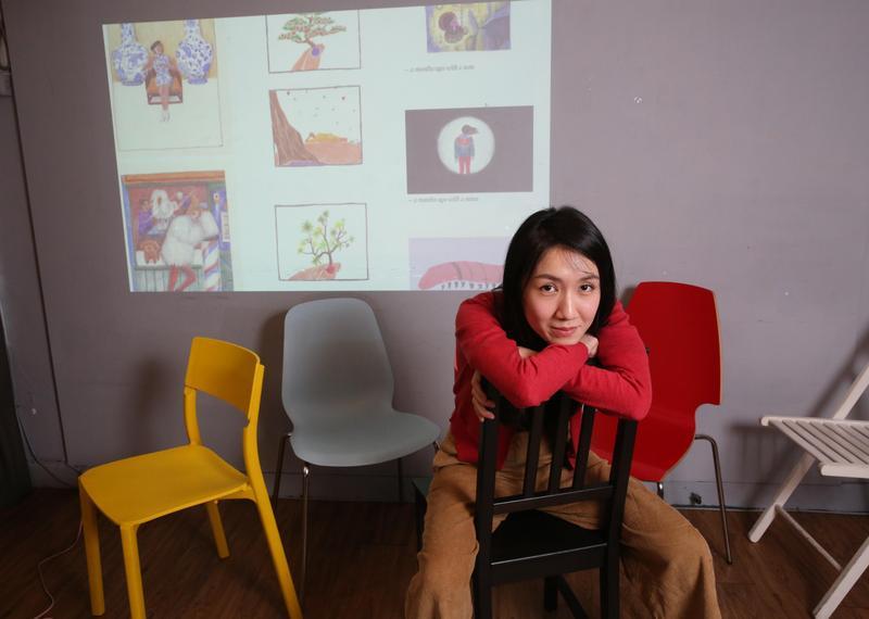 劉倩帆在創作路上蟄伏快三年,也曾在負面情緒裡徘徊。