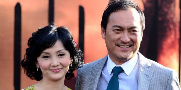 渡邊謙跟南果步宣布離婚。(翻攝geinouneta.com網站)