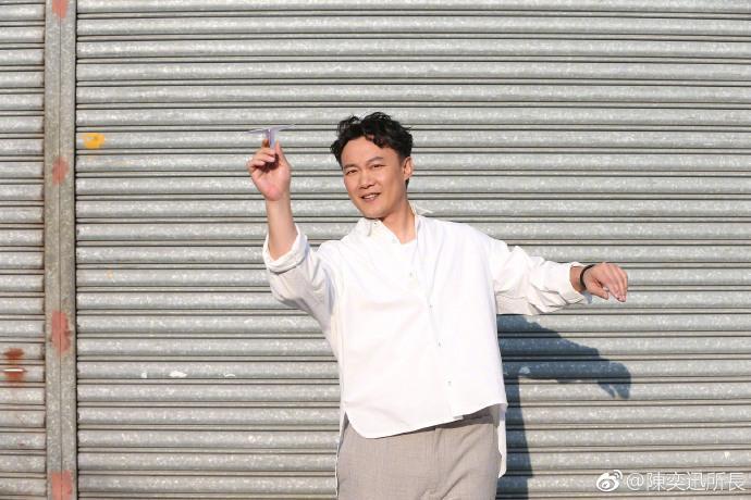 陳奕迅這次主動減肥,最開心是老婆徐濠縈。(翻攝自陳奕迅臉書)
