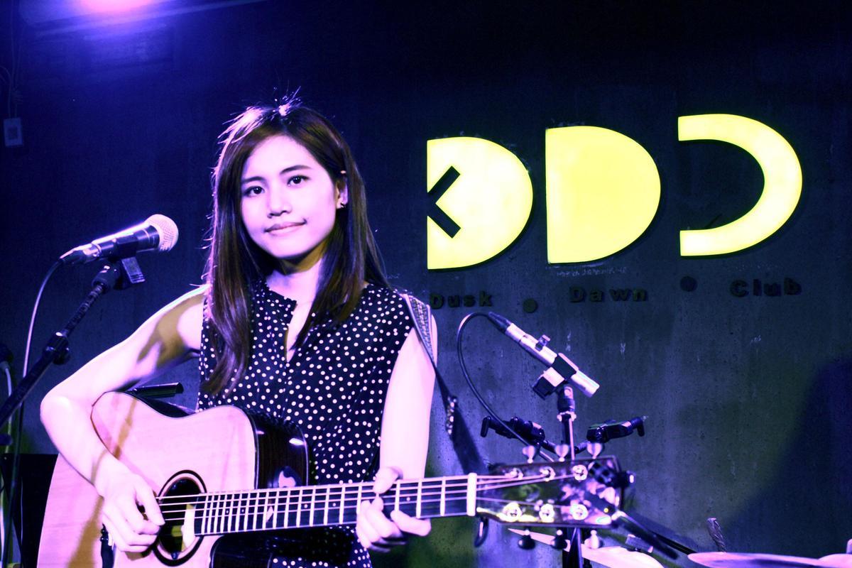 城市創作新女聲吳汶芳大陸Live巡迴首站,於週六(19日)在北京登場。(福茂唱片提供)