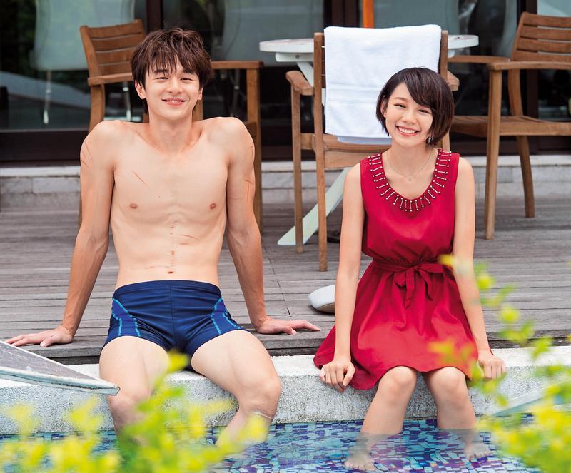 張軒睿與林明禎在電視劇《狼王子》首度合作,兩人對彼此印象佳。(三立提供)