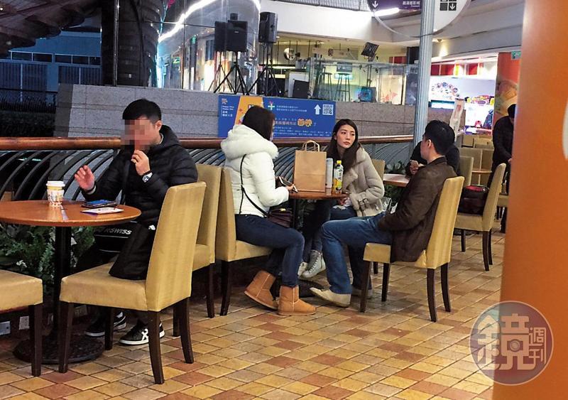 本刊今年年初拍到吳亞馨跟張承中約會,但後續不了了之,張承中傳出另擁新歡,而且本刊也收到情報,指張承中和新歡穿著居家出現在松山附近。