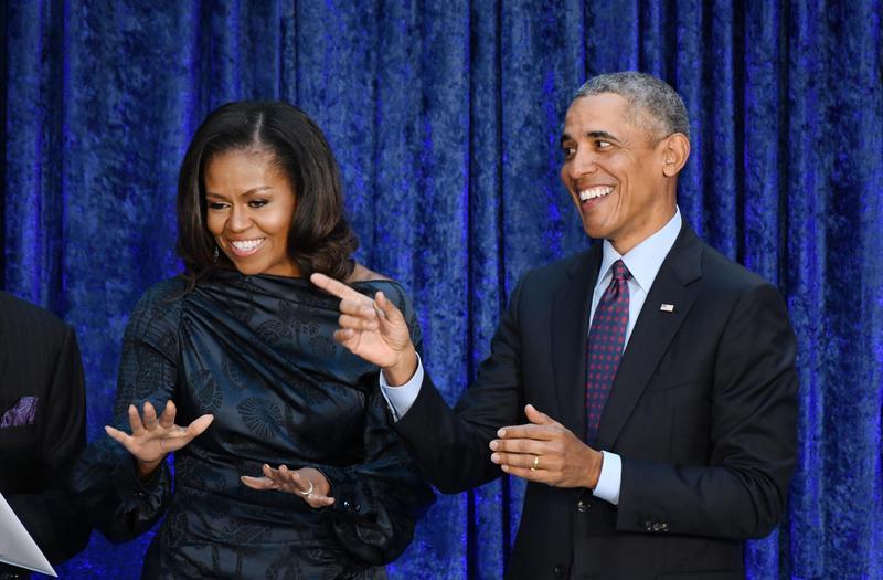 歐巴馬夫婦將和Netflix合作,將8年美國總統任內的議題拍成影片。(東方IC)