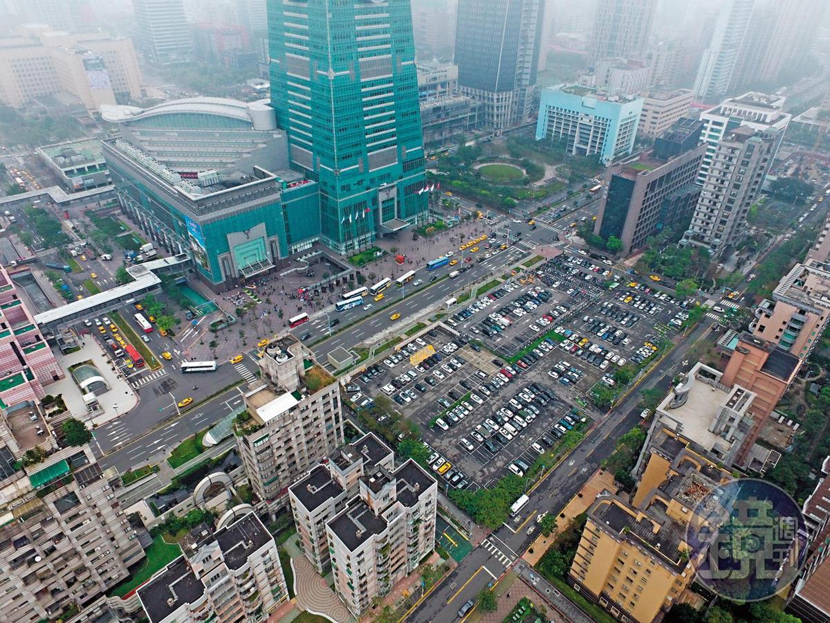 檢方認定101大樓正對面的D3土地,是鄧文聰以掏空幸福人壽資金所買,連帶也讓D3土地淪為法拍,甚至被法院加註部分禁止轉讓。