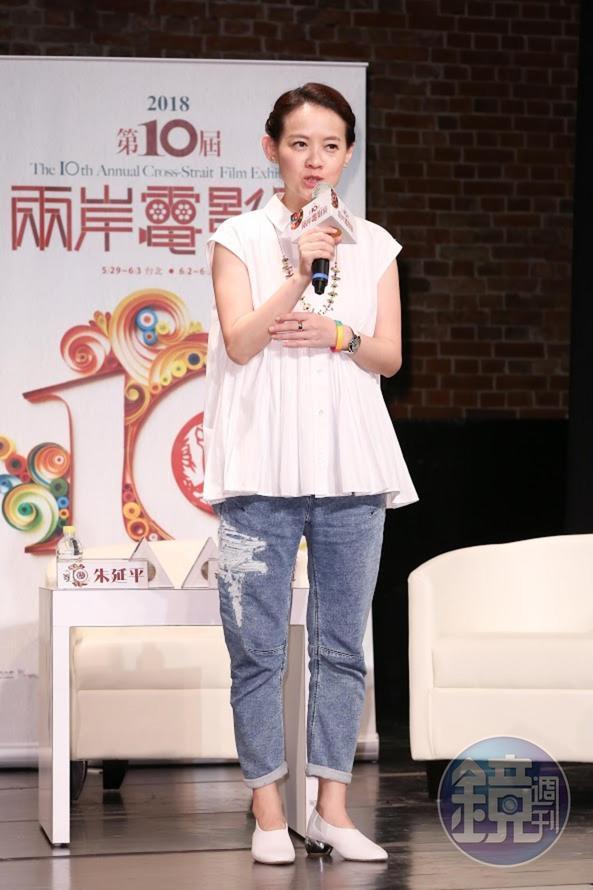 曾寶儀擔任主持人,她表示自己的任務是要制止三位導演繼續發言,否則「會講到明天早上。」