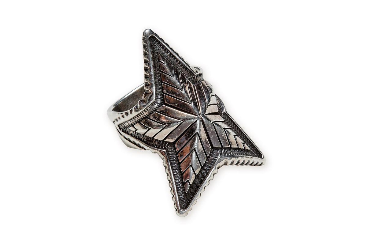 Cody Sanderson星星戒指,NT$27,800。