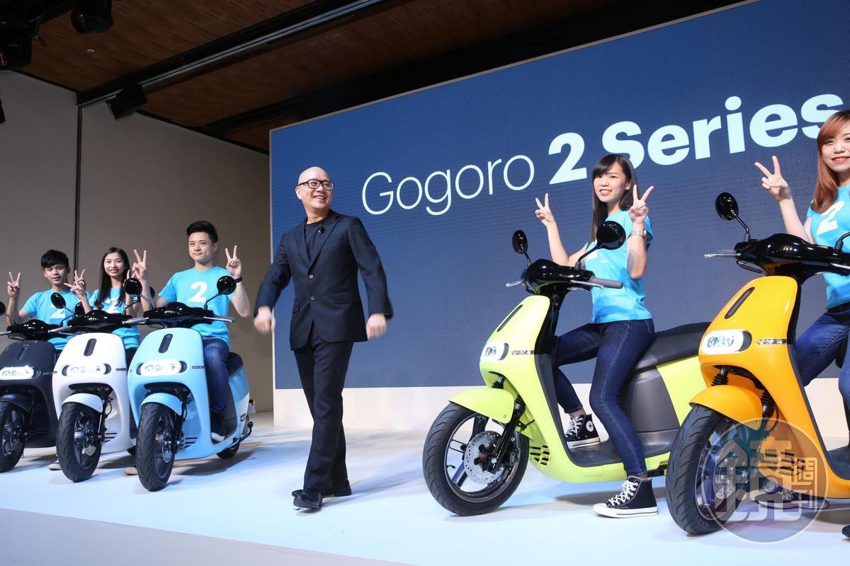 目前國內電動機車最大業者是Gogoro,總銷售量已達60,000輛。