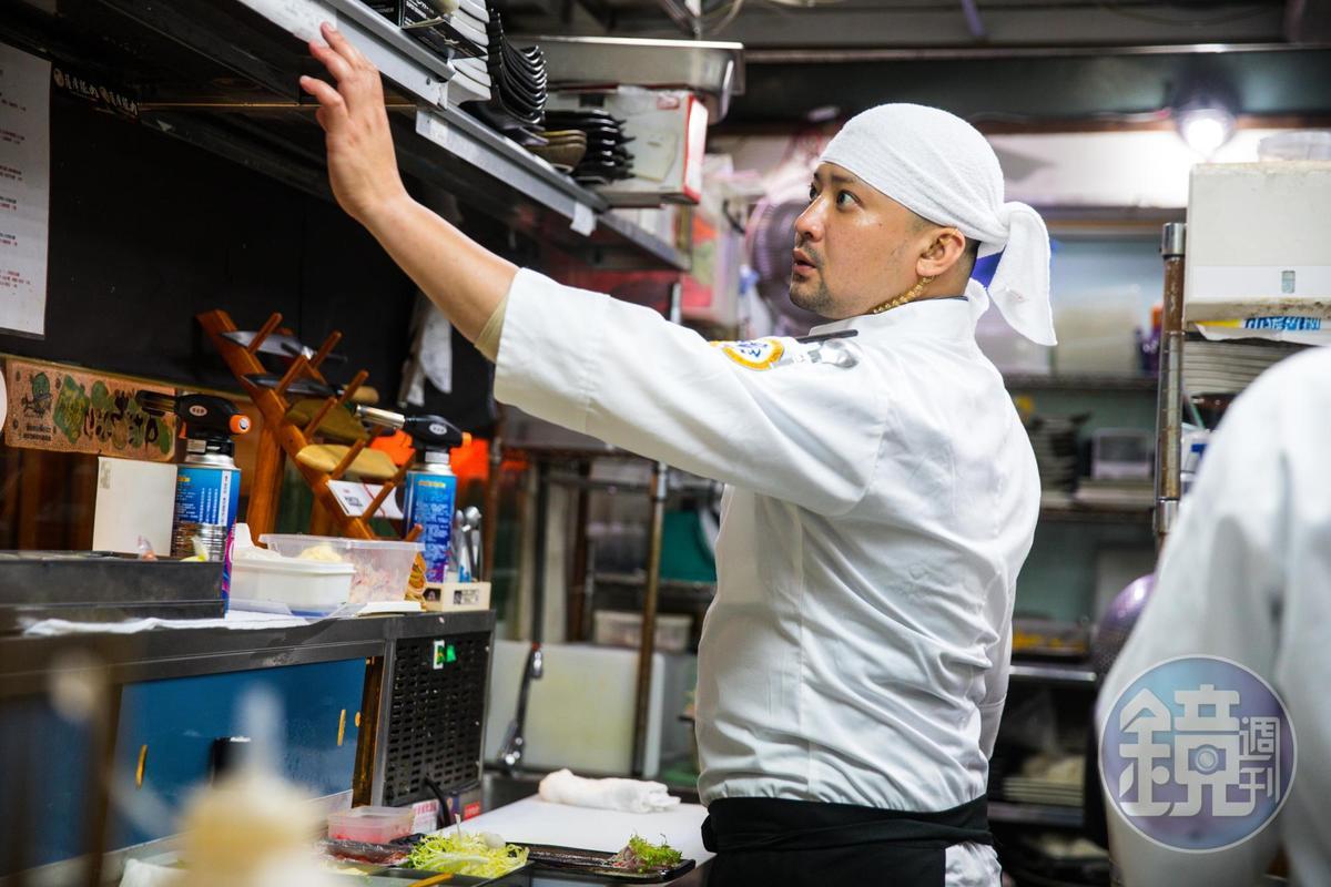 幸和殿料理長莊永聖料理創意多,曾以炙鮭香蕉壽司卷拿下2016世界廚王台北爭霸賽亞軍。