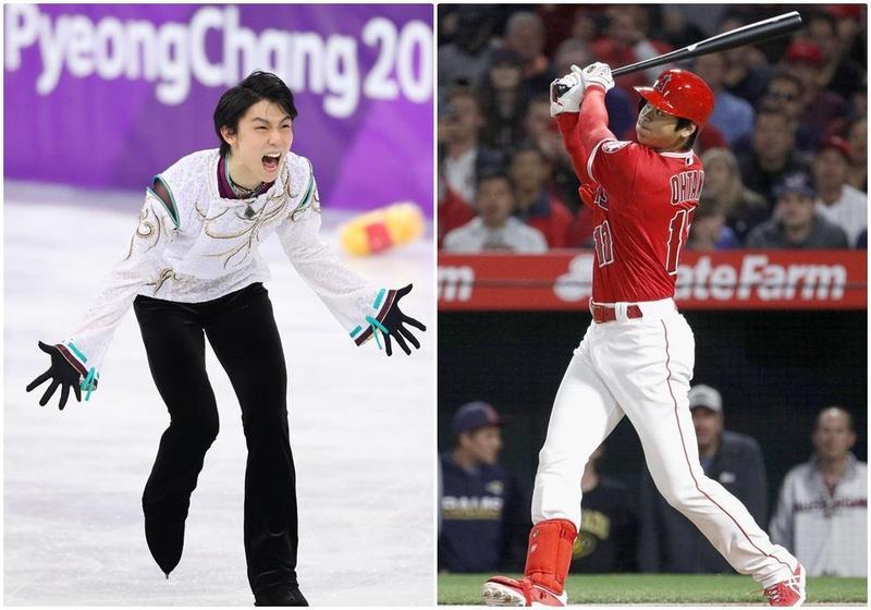 同為1994年出生的羽生結弦(左圖)與大谷翔平(右圖),扭轉了日本社會對於「寬鬆世代」的負面評價。(東方IC)