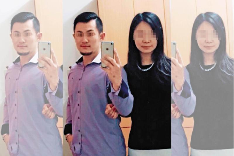 朱姓凶嫌與黃姓女友交往約半年,疑因女友「不是處女」,而動手殺害。(翻攝畫面)