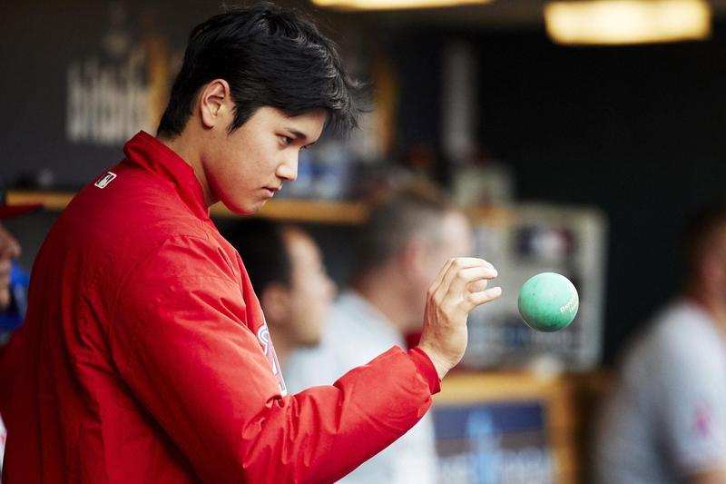 開季兩個月以來,大谷翔平依舊是美日媒體與棒球迷的關注焦點。(東方IC)