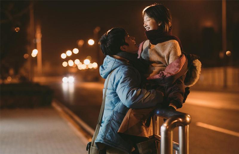 銀幕CP井柏然、周冬雨共譜戀曲,戲中兩人都為這段愛情付出很多,就算分手都是成長。(Netflix提供)