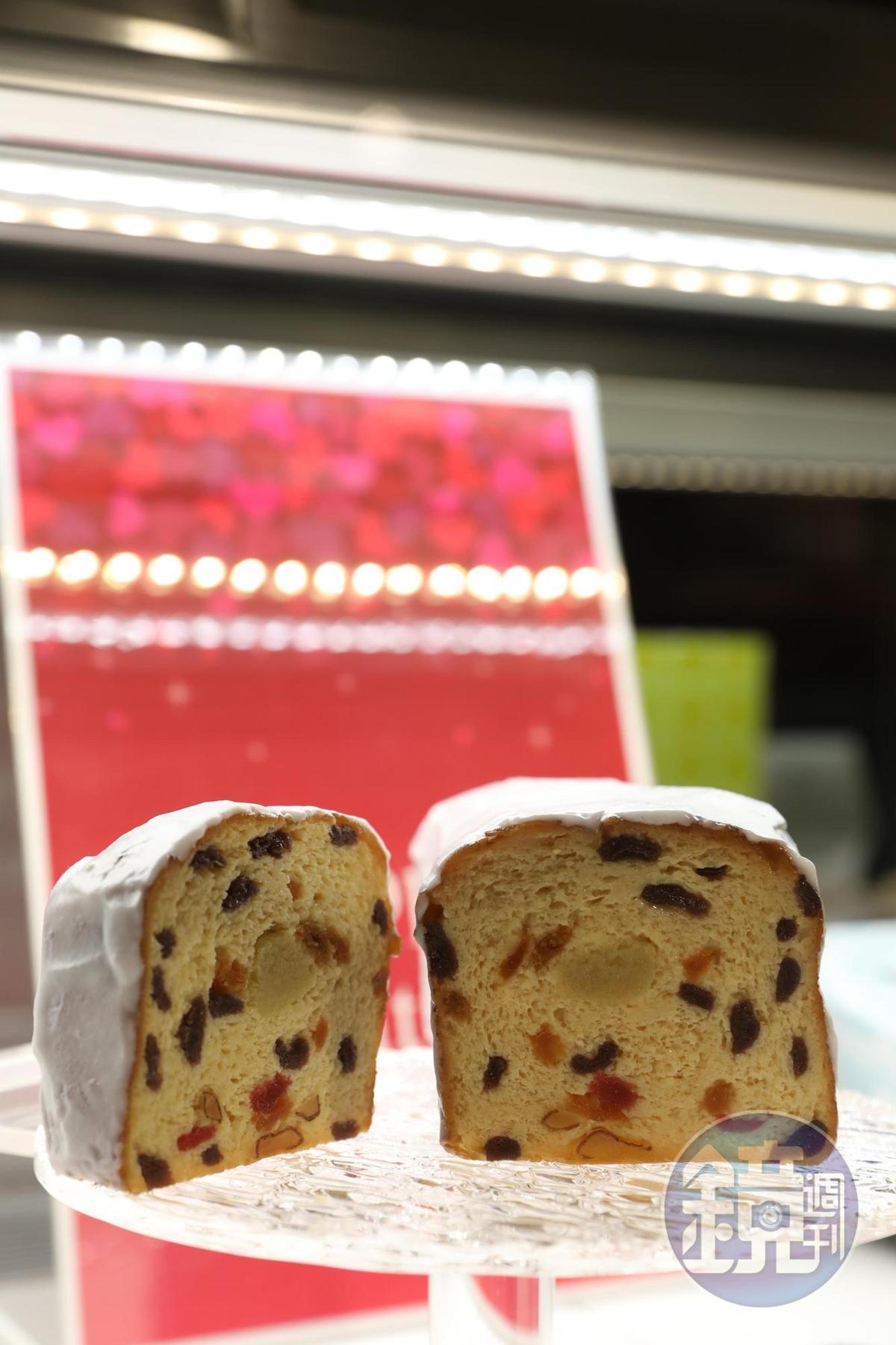 雪藏水果蛋糕是雪室人氣商品之一。
