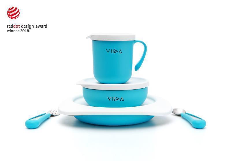 錦明實業自有品牌VIIDA,旗下產品獲德國紅點設計大獎。(錦明實業提供)