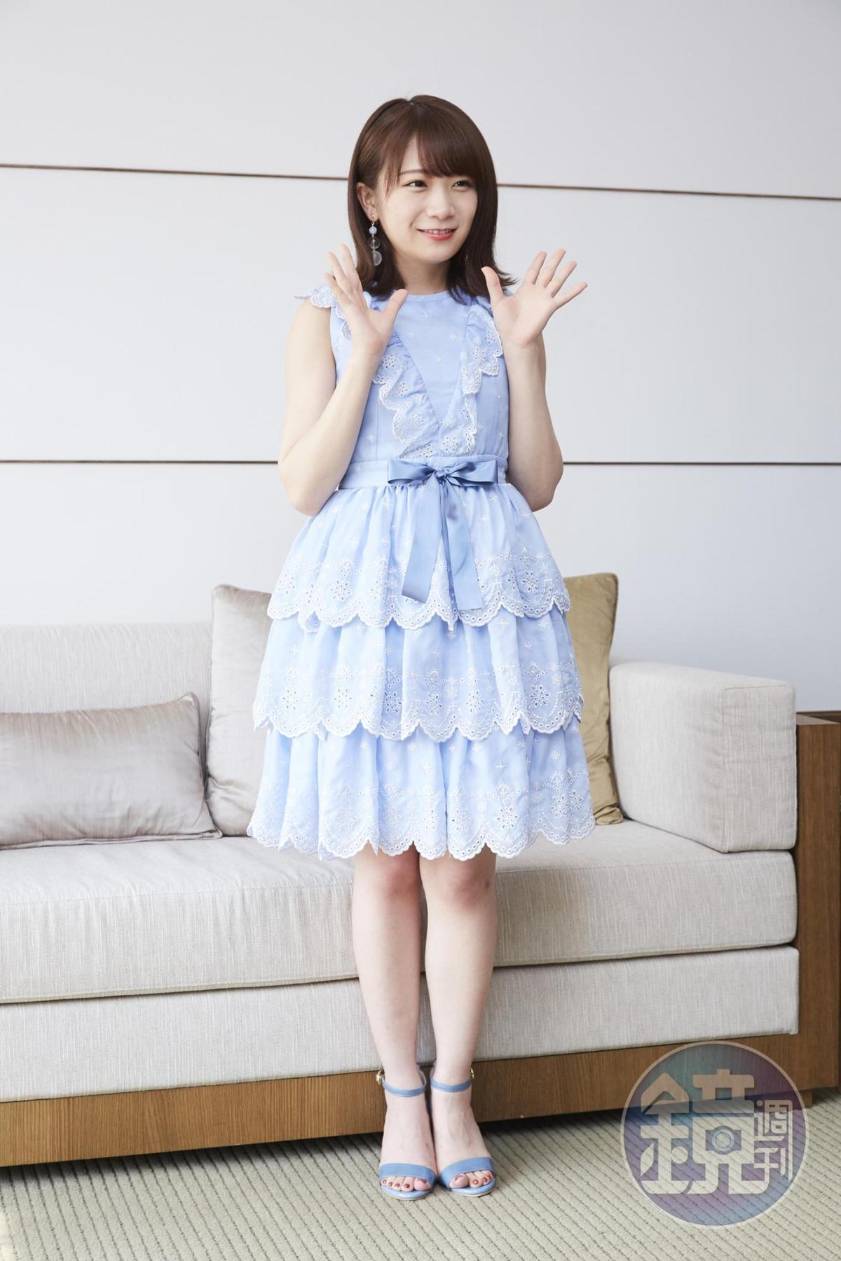 秋元真夏被記者說長相神似福原愛,她笑說在日本新聞常看到小愛與江宏傑這對甜蜜夫婦的報導。