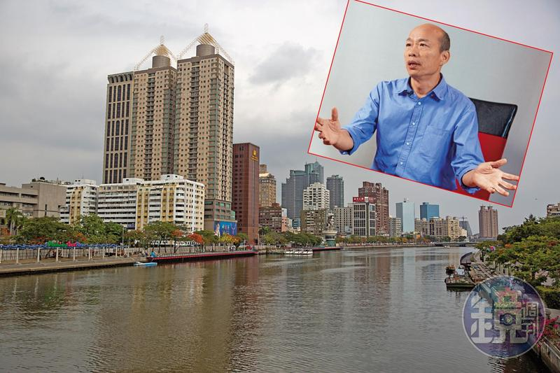 國民黨高雄市長參選人韓國瑜批民進黨執政20年,把高雄變得「又老又窮」,他喊出全力拚經濟,要吸引投資客和觀光客到高雄。
