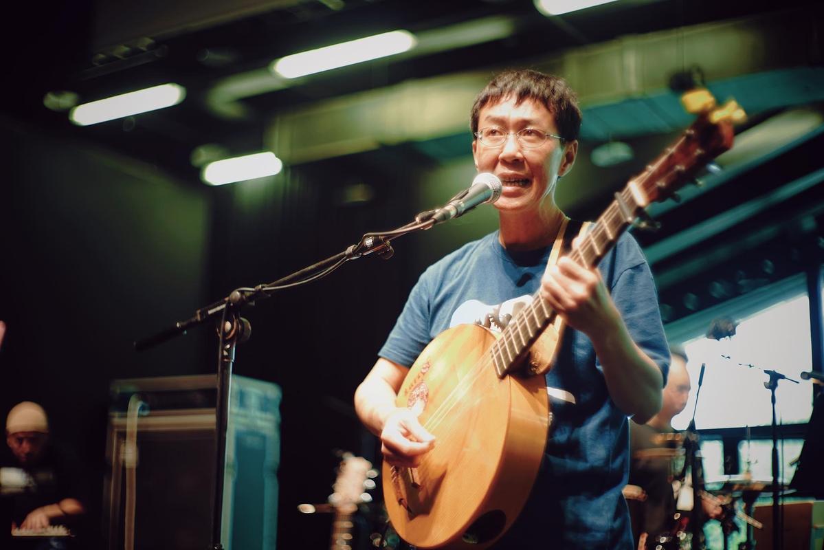 林生祥即將舉辦演唱會,憑著他帶領的生祥樂隊創作的〈有無〉已經獲獎無數。(Legacy)