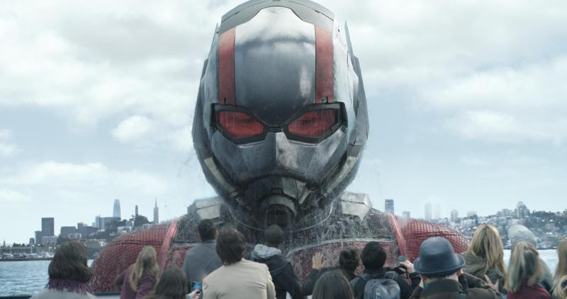 《蟻人與黃蜂女》男女主角及導演下週將來台宣傳,台灣粉絲已迫不及待想與他們近距離接觸。(迪士尼提供)