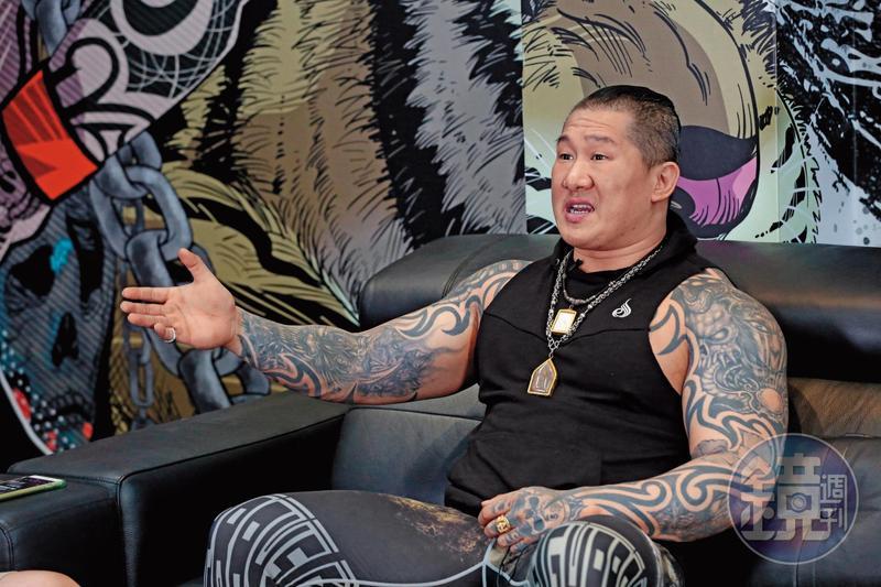 館長陳之漢接受本刊訪問,還原遭恐嚇的過程。