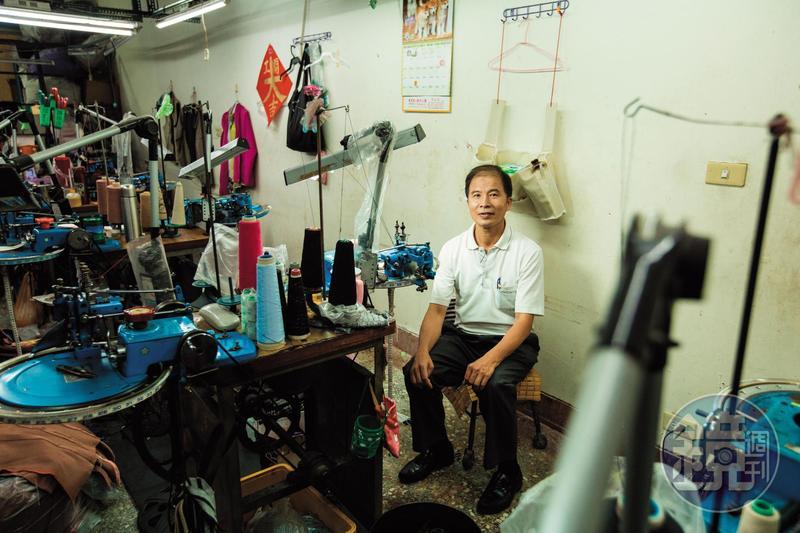 紡織業被視為夕陽工業,陳良泉苦撐多年,這2年努力轉型,並開班傳授技藝。