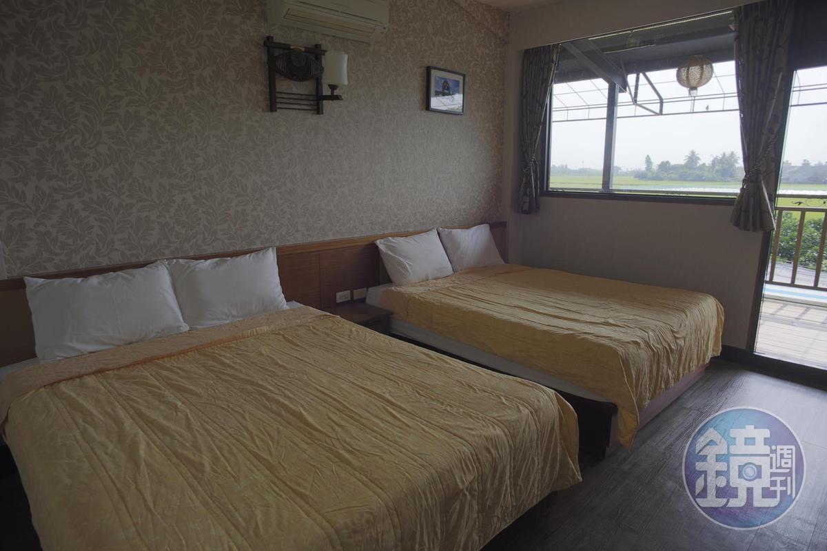 住宿在蓮田邊的民宿,就能睡飽再早起拍蓮花。