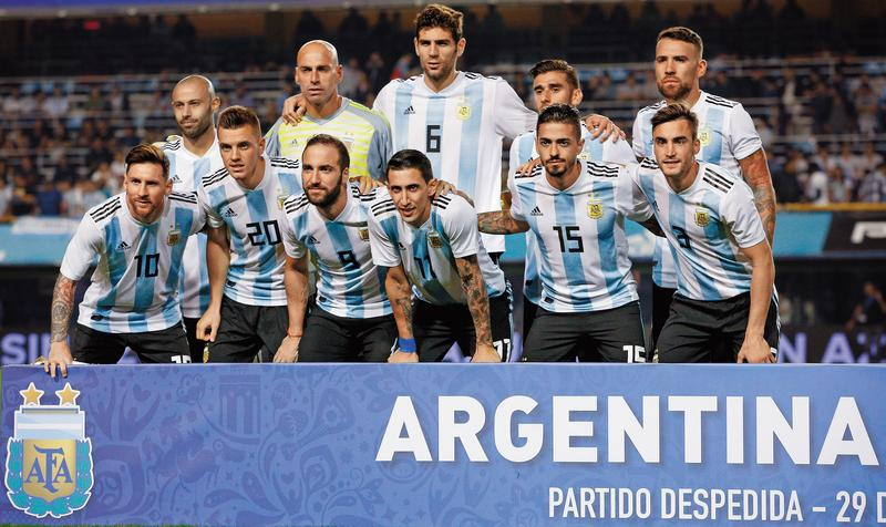 阿根廷實力高一截,但另3隊實力在伯仲之間,也未必完全被阿根廷壓著打。(東方IC)
