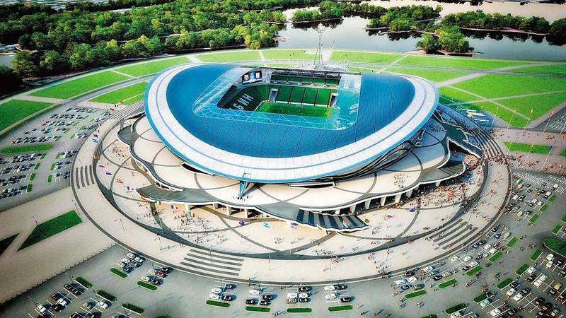 最優雅:喀山競技場 Kazan Arena(翻攝自StadiumDB)