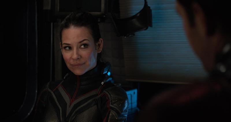 《蟻人與黃蜂女》男女主角保羅路德、伊凡潔琳莉莉下週來台宣傳,但導演卻因故缺席。(台灣迪士尼提供)