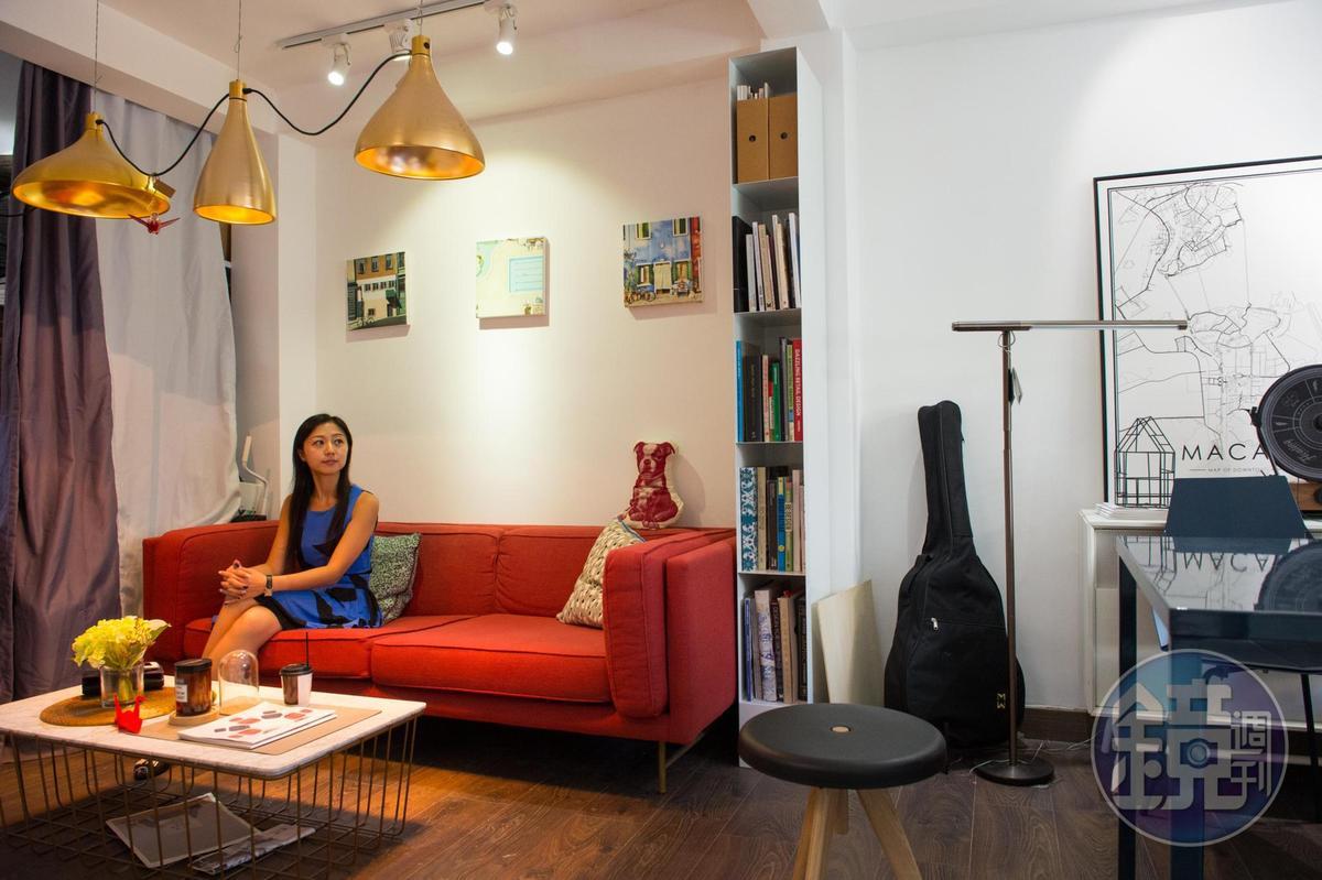 空間居家又不失設計感,予人放鬆氛圍。