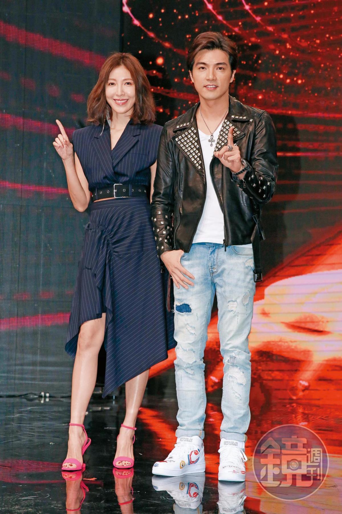 偶像劇女王楊謹華(左)及賀軍翔(右)亦獲邀擔任選角評審。