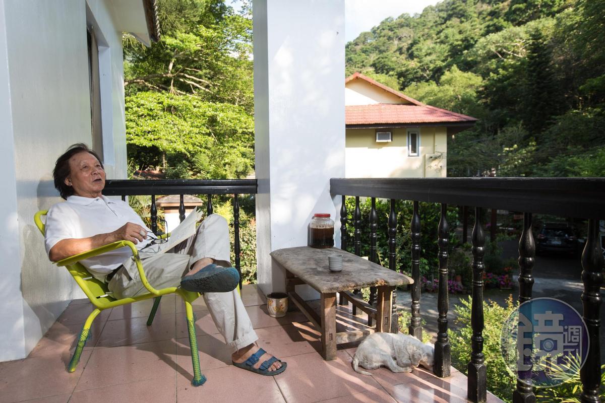 退休生活愜意且經濟獨立,讓陳智夫非常珍惜滿足。