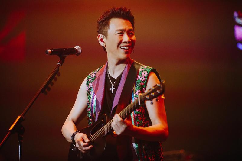陶喆6月9日在新加坡體育場舉辦「零距離」演唱會。(種子提供)