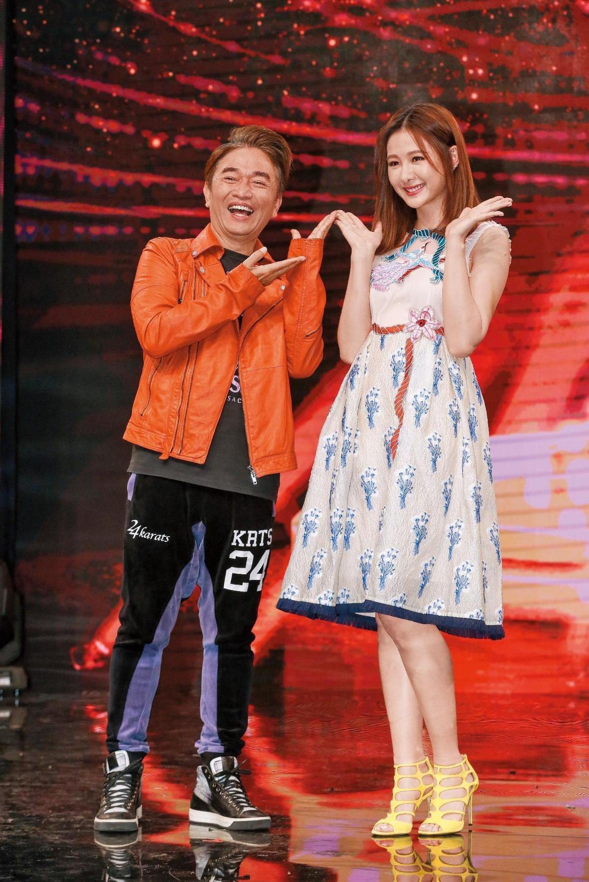 《我要當女一》節目祭出吳宗憲、安心亞搭檔主持。(TVBS提供)