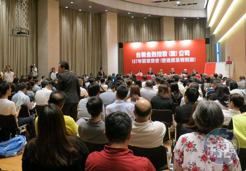 台新金董事長吳東亮全面封殺寶佳,讓林家宏完全沒機會參與董事會。