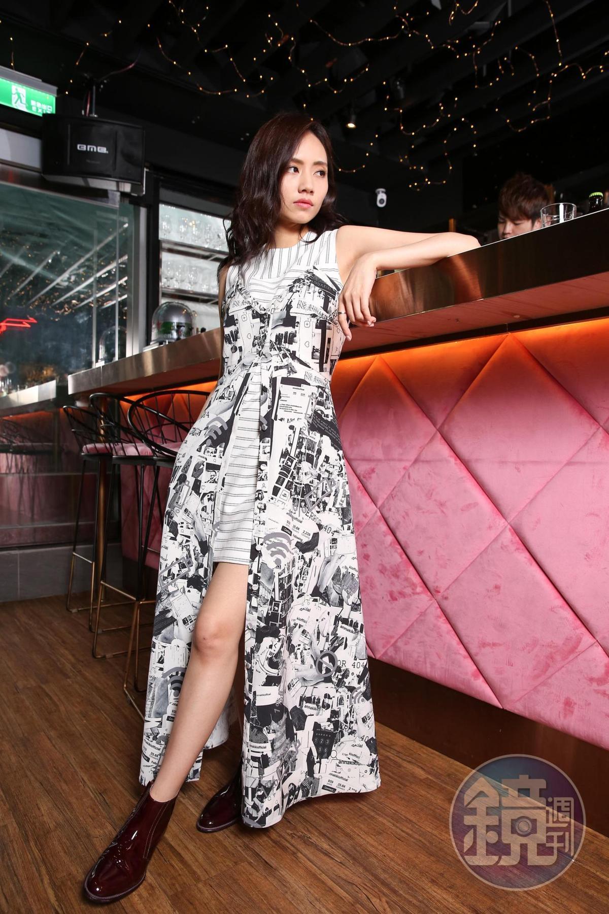 大陸歌手劉惜君來台宣傳新專輯《如我》。