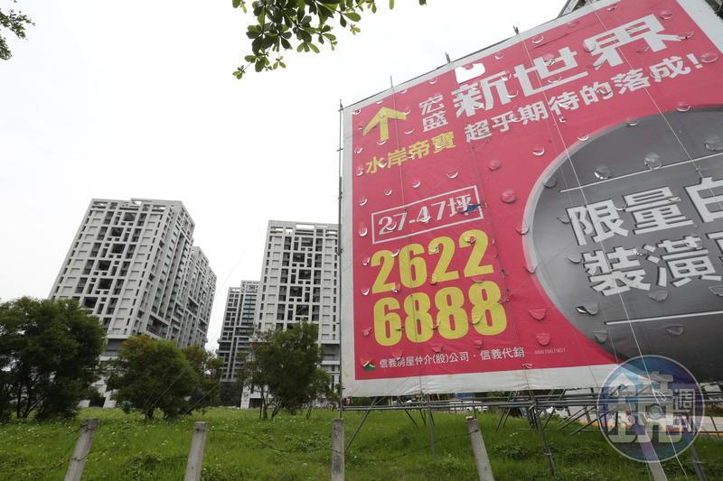 林堉璘生性簡樸,卻很照顧員工,買自家建案可以按底價再打95折購買。