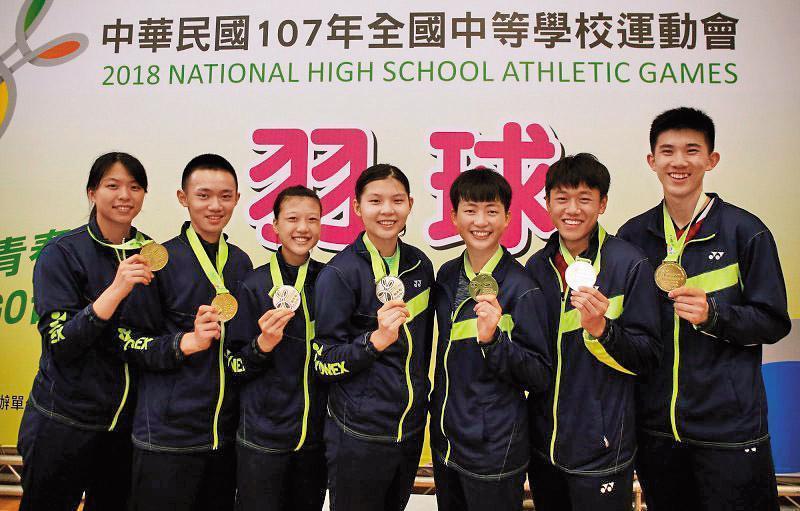 大同高中羽球隊在今年全中運勇奪8面金牌,卻驚爆教練藉選手的成績吸金。(大同高中官網)
