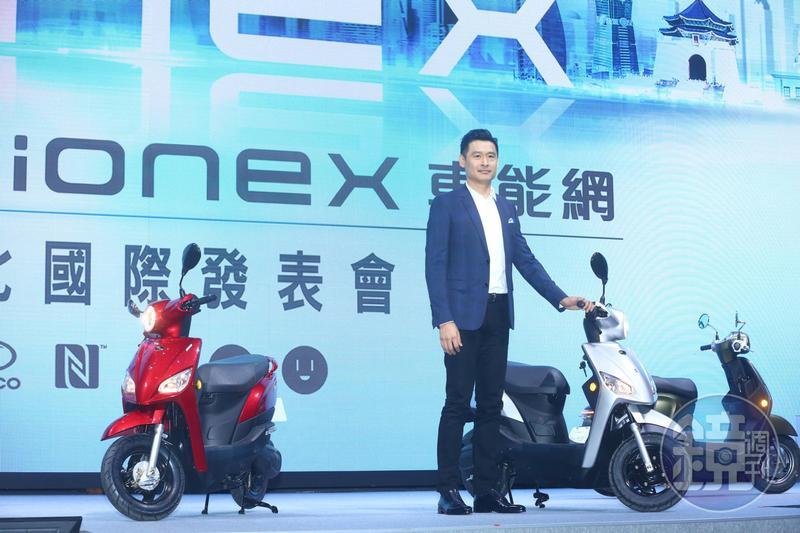 柯勝峯今(12)日宣布,今年8月將推出第一款電動機車車款Nice 100 EV,力拚2019年成為台灣電動機車市占第一品牌。