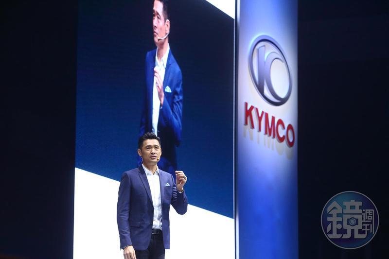 光陽董事長柯勝峯表示未來一年內,要在台灣賣出60,000台電動機車。