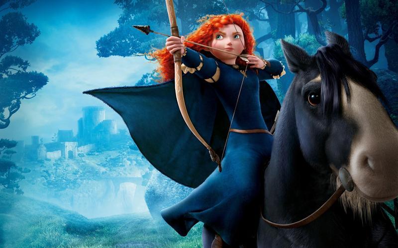 皮克斯直到2012年才推出第一部以小女孩為主角的動畫電影《勇敢傳說》。(翻攝自 gipsypixel.com)