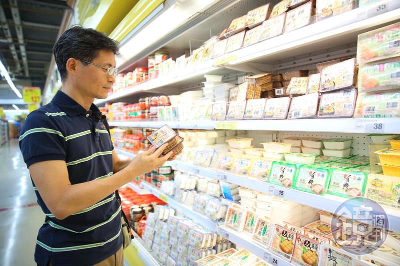 生產盒裝「中華豆腐」的中華食品,是周文偉長抱十多年的存股標的。