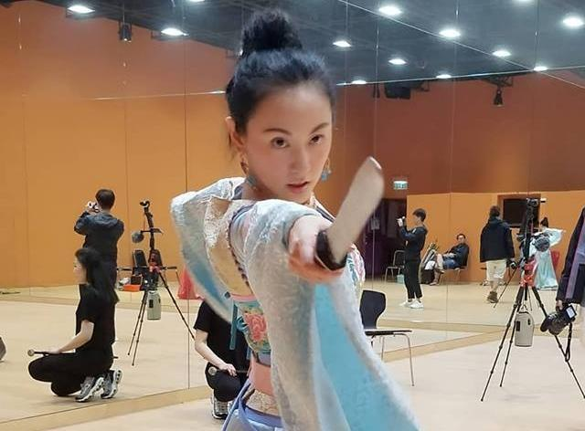 37歲的劉心悠首次在演出TVB戲劇《宮心計2》,還以全廣東話演出,獲外界一致好評。(翻攝自劉心悠臉書)