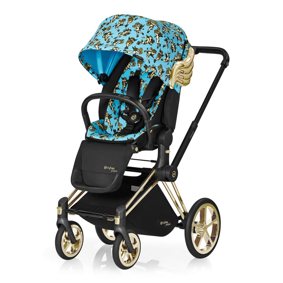 Cybex by Jeremy Scott Cherubs推車〈座椅與車架〉。NT$82,000