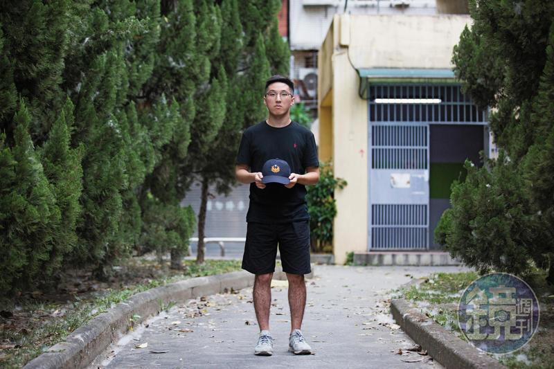 警專考試那天,是洪廷宇第二次進去警專。