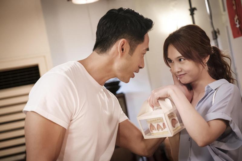 路斯明戲裡飾演楊丞琳的現任男友,卻一直除不掉她心裡的前男友陰影。(創意大、八大提供)