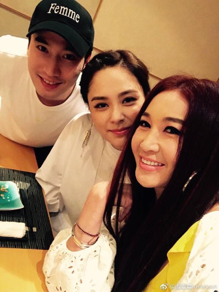 新婚的阿嬌跟老公在香港吃喝玩樂,日子過很爽。(翻攝自溫碧霞臉書)