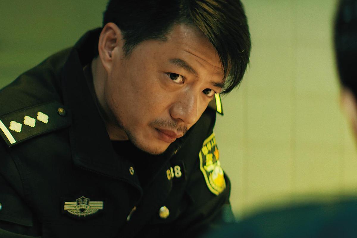 段奕宏在《烈日灼心》扮演警察,與一起演出的鄧超、郭濤得到上海電影節最佳男演員。(東方IC)