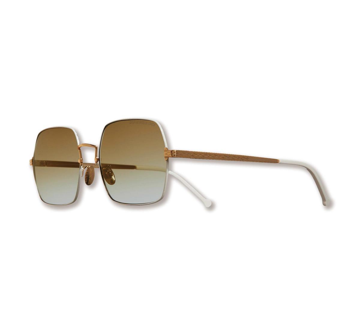 CUTLER & GROSS棕色鏡片方框太陽眼鏡。NT$16,000